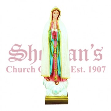 "Our Lady of Fatima 24"" Outdoor Statue"