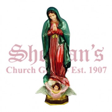"""Our Lady of Guadalupe 24"""" Outdoor Statue"""