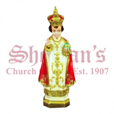 "Infant of Prague 24"" Outdoor Statue"