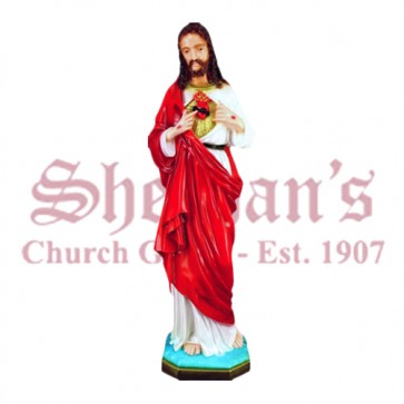 "Sacred Heart of Jesus 32"" Outdoor Statue"