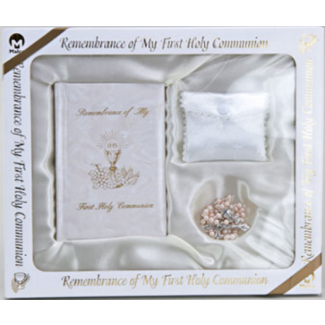 Deluxe Marian Communion Set - Out of Stock