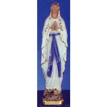 "Our Lady of Lourdes 12"" Statue"