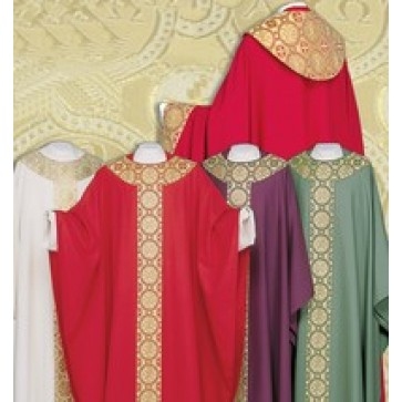 XP Basic Chasuble with Chi Rho Design