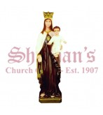 "Our Lady of Mt Carmet 24"" Outdoor Statue"