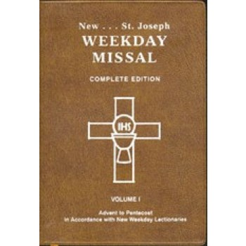 Weekday Missal Vol. 1 Advent to Pentecost