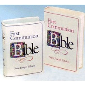First Communion Bible St Joseph Edition