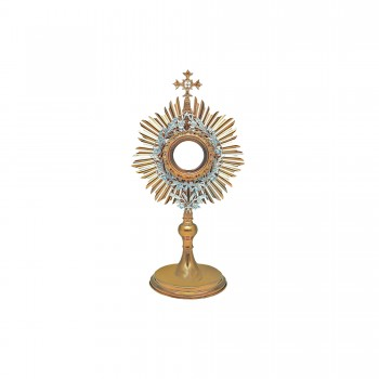 Gold Plated Roman Monstrance