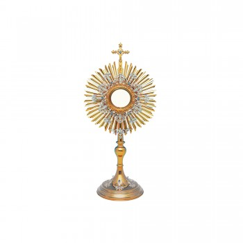 Gold and Silver Plated Roman Monstrance