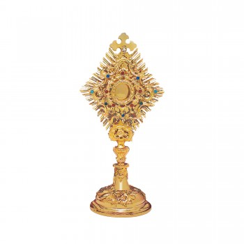 Gold Plated Baroque Reliquary