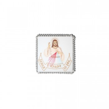Chalice Pall with Divine Mercy Embroidery