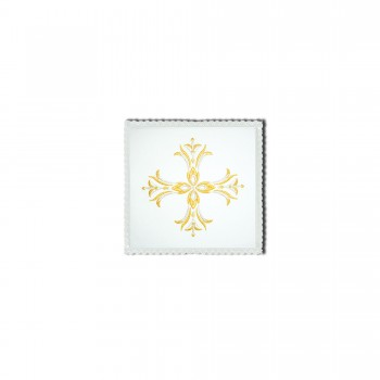 Chalice Pall with Two Tone Cross