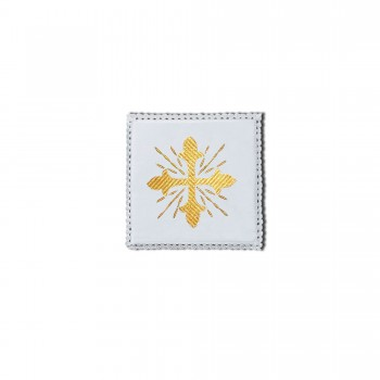 Chalice Pall with Gold Cross