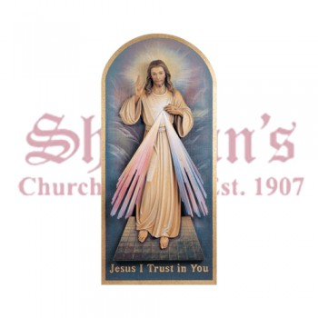 Jesus Divine Mercy - High Relief