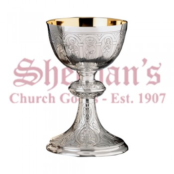 Apostles and Evangelists Sterling Silver Chalice
