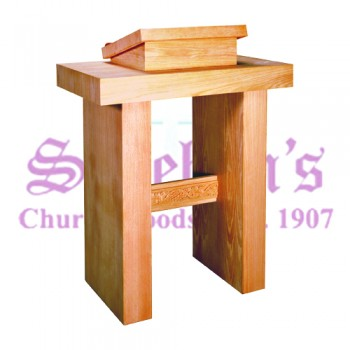 Pulpit with Plain or Grapevine Trim
