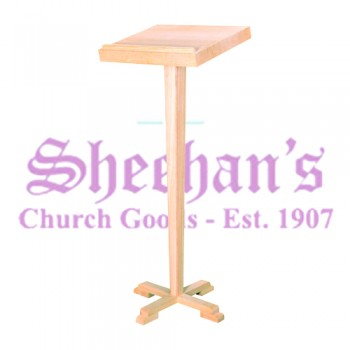 Solid Oak Lectern Stand