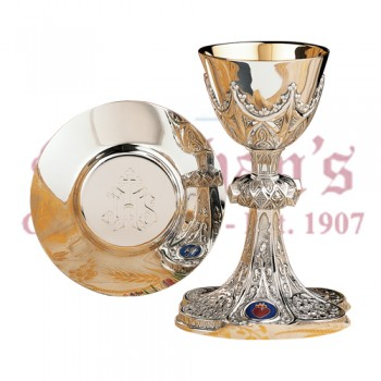 Chalice with the Sacred Hearts