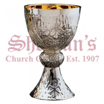 Wheat and grape Ornamented Chalice