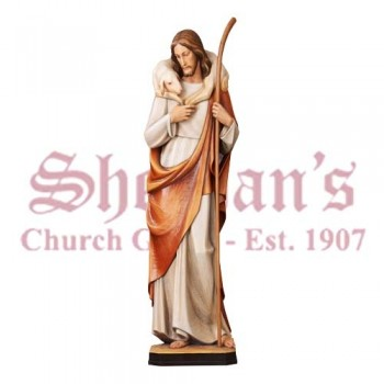 Traditional Good Shepherd Statue