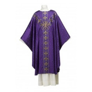 Chi Rho Tudor Rose Chasuble