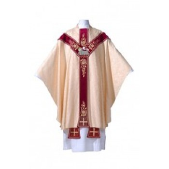 Chasuble with Lamb of God
