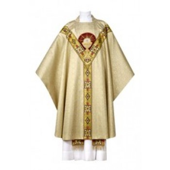 Napoli Chasuble with Chalice Monogram