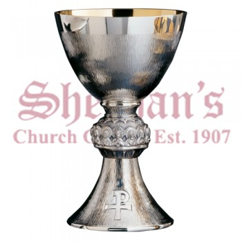 Fine straw hammering Last Supper Chalice