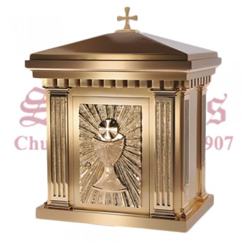 Bronze Tabernacle with Chalice