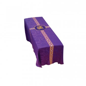 Funeral Pall with IHS Embroidery