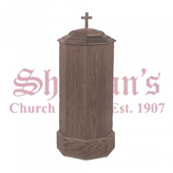 Traditional Baptismal Font