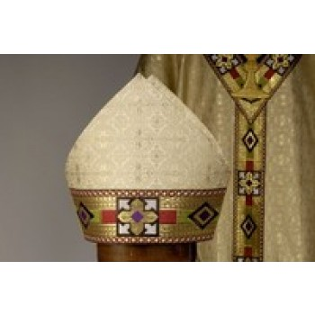 Mitre in Napoli Gold Brocade