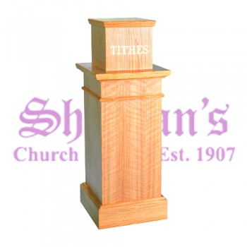 Standing Tithe Box