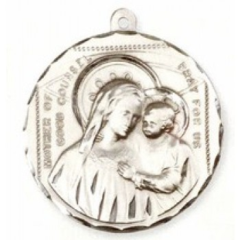 Our Lady of Good Counsel Large Pendant