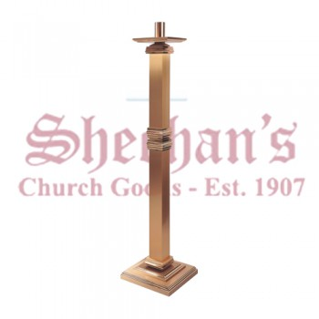Paschal Candle Stand with Bronze Column