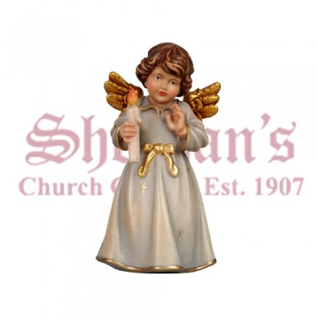 Bell Angel Standing With Candle