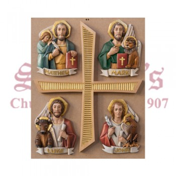 Set Of Four Evangelists Symbols