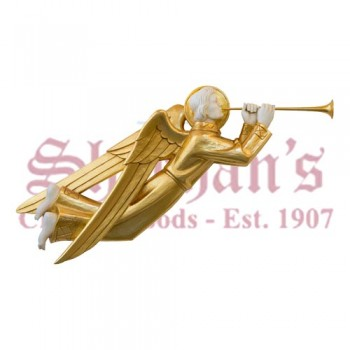 Trumpeting Angel - Ivory/Gold