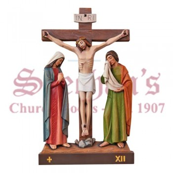 14 Stations Of The Cross + Crosses/Numerals In Prop.