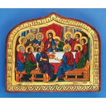 Last Supper Hand Painted Icon
