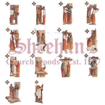 Distinct 14 Stations Of The Cross
