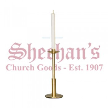 Paschal Candlestick with Polished Edges