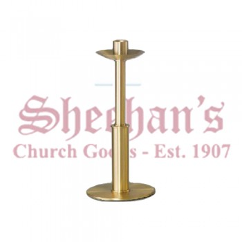Short Paschal Candlestick with Polished Edges