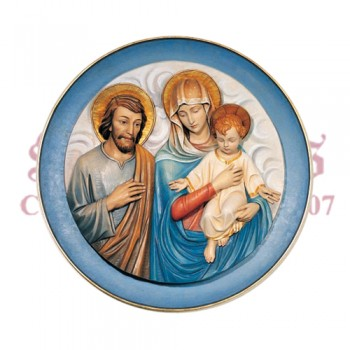 Holy Family - With Background Panel