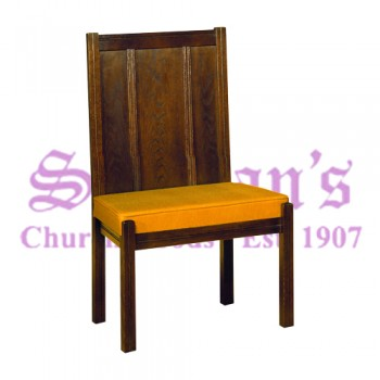 Solid Oak Communion Chair