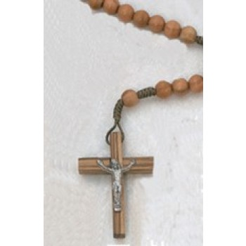 Genuine Olive Wood Rosary Beads