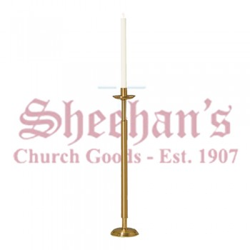 Processional Paschal Candlestick with Round Base
