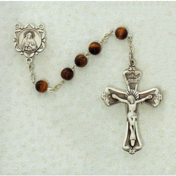Tiger Eye Rosary Beads