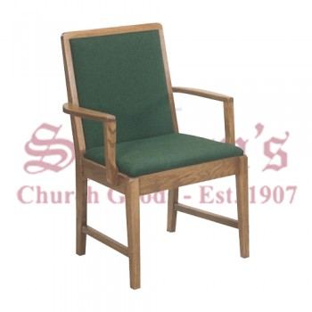 Solid Oak Sanctuary Arm Chair