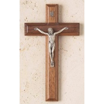 Walnut Crucifix with Salerni Corpus