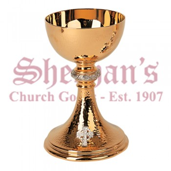 Crown of Thorns motif Chalice and Dish paten